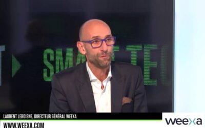 Laurent LEBOISNE – Directeur Général WEEXA – SMART TECH